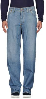 Jaggy Denim trousers