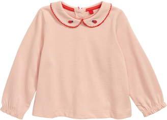 Boden Mini Ladybug Collar Top