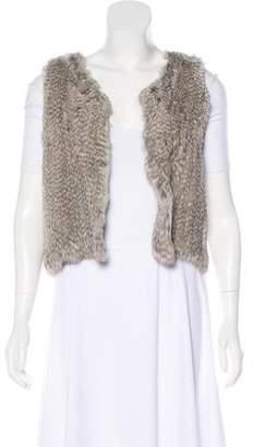 Fur Open Front Fur Vest