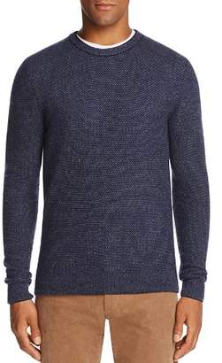 Bloomingdale's The Men's Store at Wool & Cashmere Honeycomb Sweater - 100% Exclusive