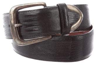 Polo Ralph Lauren Lizard Skinny Belt