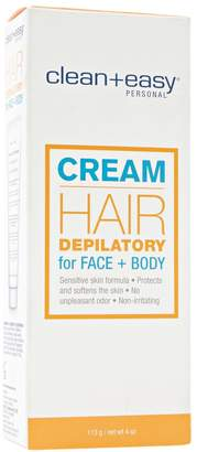 Clean + Easy Face & Body Cream Depilatory