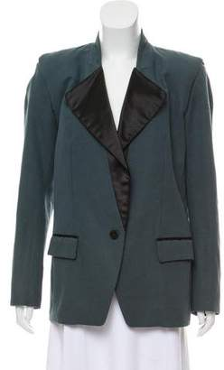 Isabel Marant Tailored Satin-Trimmed Blazer
