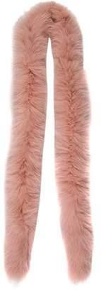 Christian Dior Fox Fur Skinny Scarf
