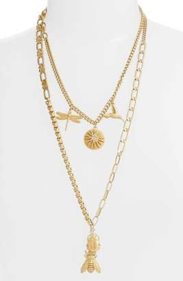 Vince Camuto Layered Charm Necklace