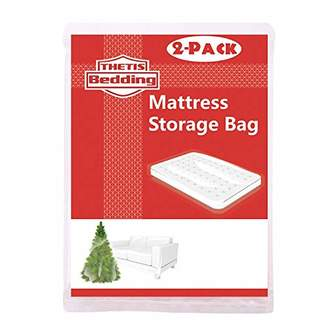 THETIS Homes (2 Pack Mattress Bag for Moving and Storage