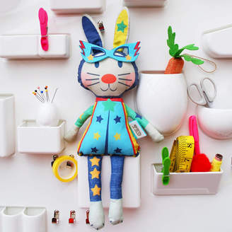 Wild Things Funky Little Dresses Easter Bunny Doll Kit