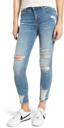 Vigoss Marley Distressed Skinny Jeans