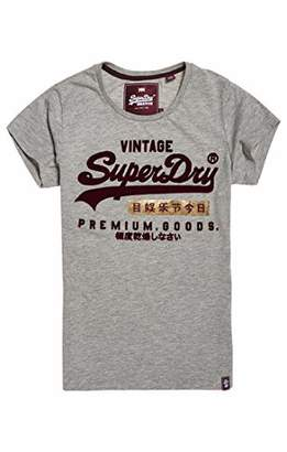 Superdry Women's Premium Goods Sport Entry Tee Kniited Tank Top,(Size: 8.0)