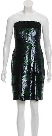 Ralph Lauren Collection Sequined Silk Dress