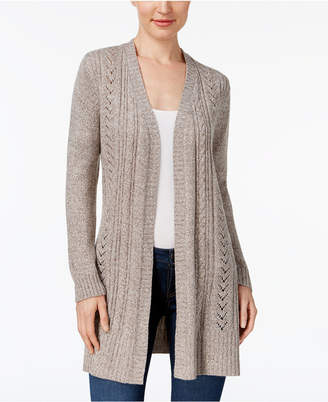Karen Scott Turbo Duster Cardigan