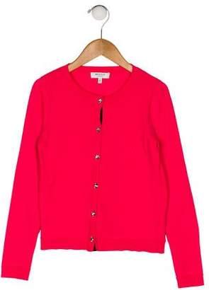 Milly Minis Girls' Long Sleeve Cardigan