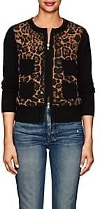 Moncler Women's Corenna Cheetah-Print Jacket