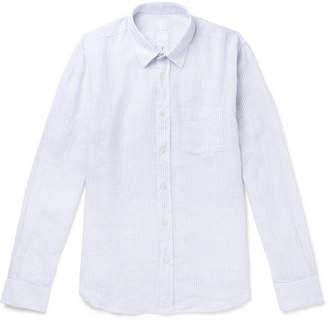 120% Striped Linen Shirt