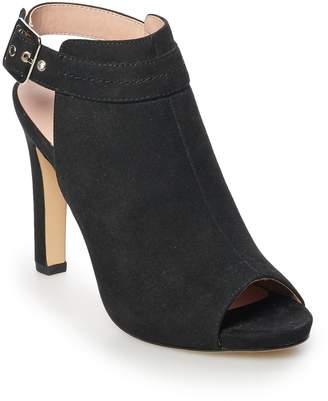 Steve Madden Nyc NYC Ruee Women's Peep Toe Ankle Boots