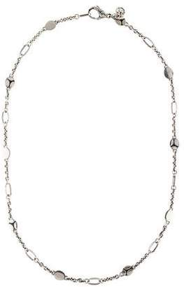 John Hardy Kali Oval Station Necklace