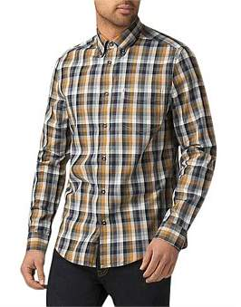 Ben Sherman Ls Distorted House Gingham Shirt