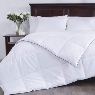 Puredown White Down Alternative Comforter, Duvet Insert, 100% Polyester, White, King Size
