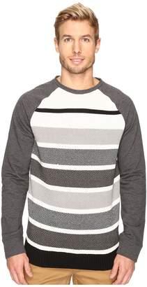 Nautica Long Sleeve Sweater Front Crew Men's Sweater