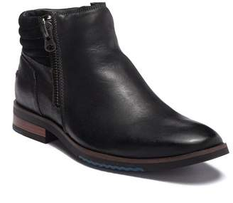 Steve Madden Kingpin Leather Zip Boot