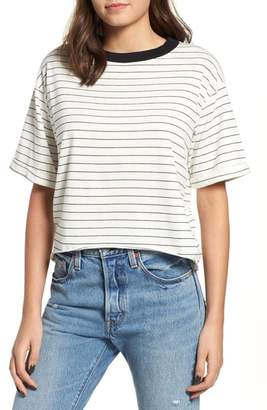 Freddy Project Social T Crop Ringer Tee