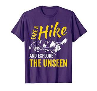 Funny Hiking Shirt Take A Hike And Explore T Shirt