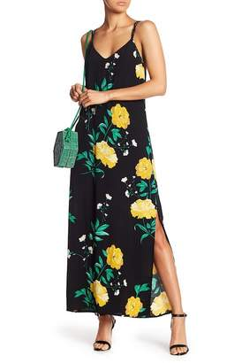 Bardot Strappy Back Floral Maxi Dress