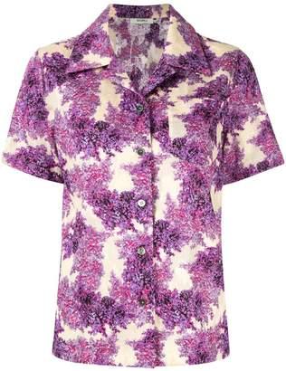 GOEN.J floral print shirt
