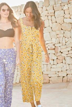 53bee02b9f at Next · Next Womens Yellow Floral Print Jumpsuit