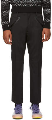 DSQUARED2 Black Houndstooth Trousers
