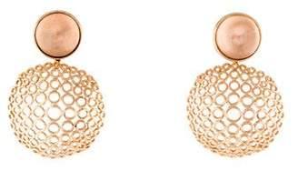 Carla Amorim 18K Cobogo Quartz Earrings