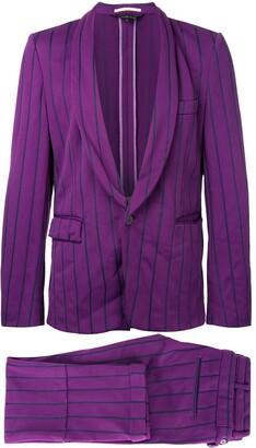 Comme des Garcons Pre-Owned pinstripe suit