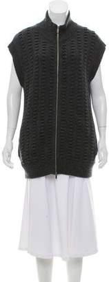 Diane von Furstenberg Sleeveless Knit Cardigan