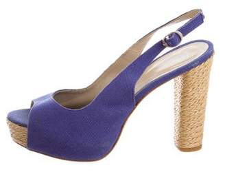 Castaner Slingback Platform Sandals