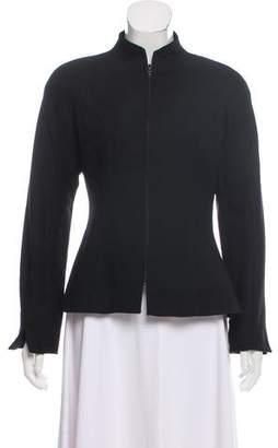 Christian Dior Wool Zip-Up Jacket