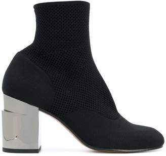 Clergerie block heel ankle boots