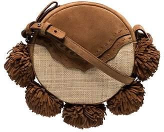 Mehry Mu brown Tambourine suede satchel bag