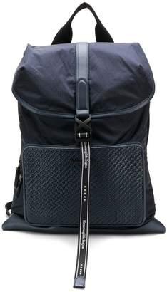 ae844cf20a71 Ermenegildo Zegna buckled backpack
