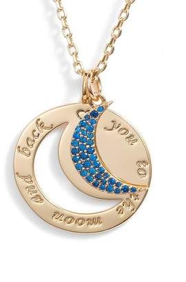 Lulu DK To the Moon & Back CZ Necklace
