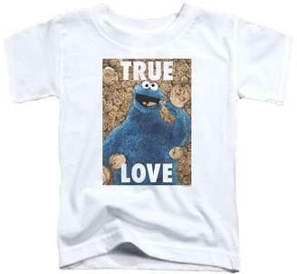 Sesame Street Classic TV Show Beautiful Cookies Little Boys Toddler T-Shirt Tee