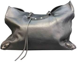 Balenciaga Papier leather tote