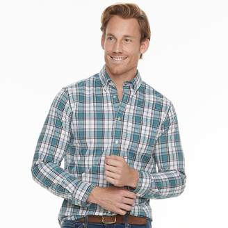 Sonoma Goods For Life Men's SONOMA Goods for Life Modern-Fit Stretch Poplin Button-Down Shirt