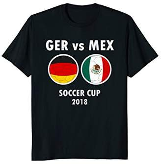 Victoria's Secret Soccer 2018 Germany Mexico Football Game T-Shirt