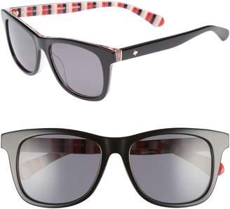 Kate Spade Charmine 53mm Gradient Lens Sunglasses