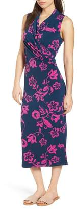 Tommy Bahama San Lucia Faux Wrap Midi Dress