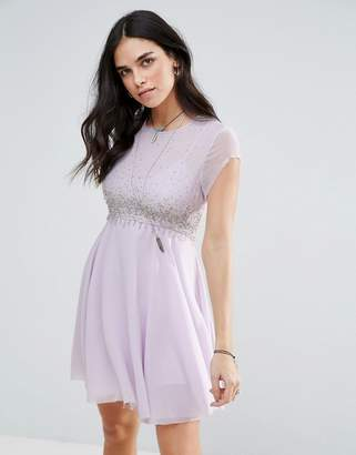 Free People Rock Candy Embllished Party Dress