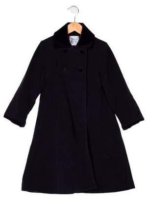 Florence Eiseman Girls' Collar A-Line Coat