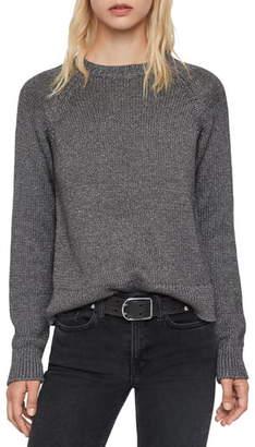 AllSaints Zelda Metallic Thread Sweater