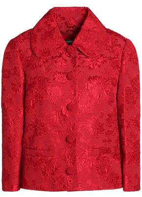 Dolce & Gabbana Cotton And Silk-Blend Matelassé Jacket