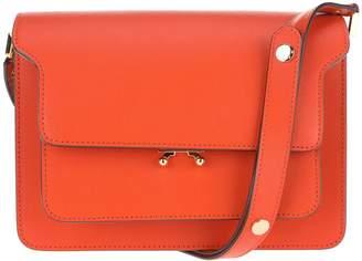 Marni Trunk Bag In Saffiano Calfskin